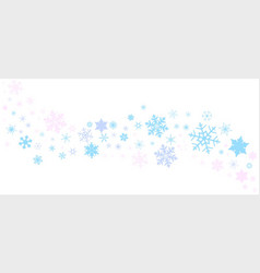 Snowflake spangled banner vector