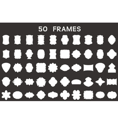50 frames vector image vector image