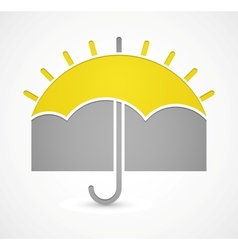 Icon of weather vector image vector image