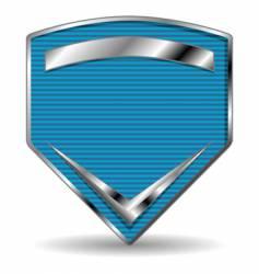 sport shield vector image