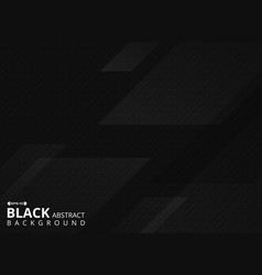 abstract of futuristic black background of square vector image
