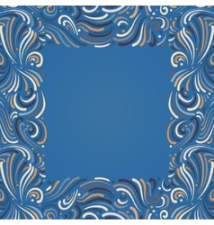 Background with abstract pattern vector