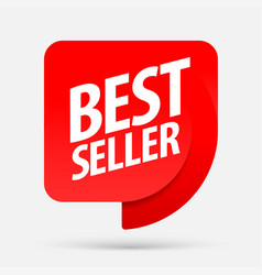 bestseller an ad for an advertising campaign vector image