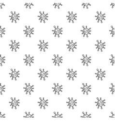 chlamydia virus pattern seamless vector image