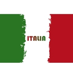 Italian flag Republic Day vector image