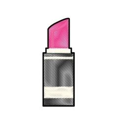 Lipstick makeup icon image vector