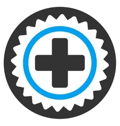 Medical Stamp Icon vector image