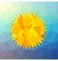 Mosaic Sun vector image
