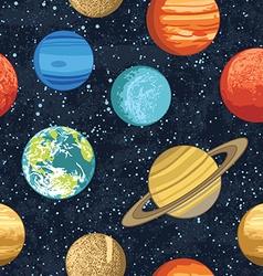 Planetspattern vector