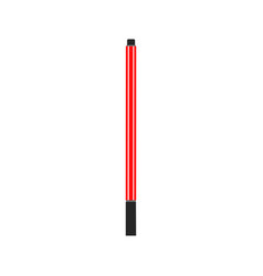 red ballpoint pen flat design isolated on white vector image