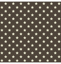 Seamless Stars Pattern in Retro Red vector image vector image