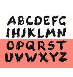 Grunge Alphabet vector image vector image