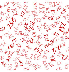 percent seamless business seamless texture vector image