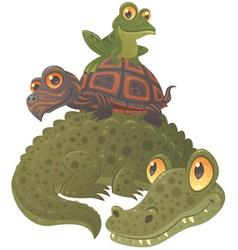 Swamp Squad vector image