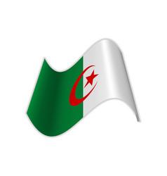 Algerian flag vector