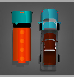 autotruck image vector image