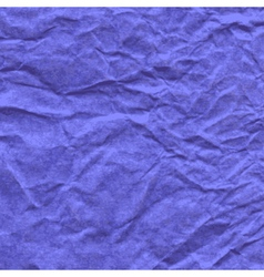 Background crumpled paper in violet color vector