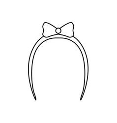claw hair clip vector image