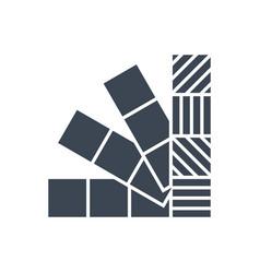 Colors line glyph icon vector