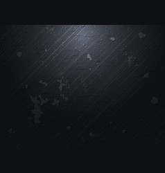 Dark concrete background vector