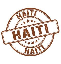 Haiti stamp vector