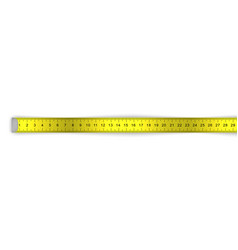 measuring ruler tape for tool roulette vector image