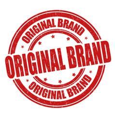 Original brand grunge rubber stamp vector