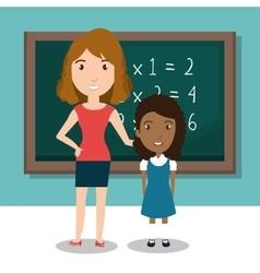 student school teacher icon vector image
