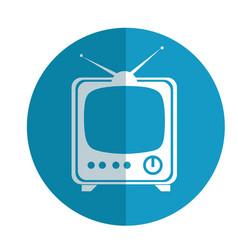Tv media live streaming vector