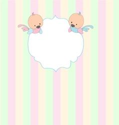 album cover for children vector image