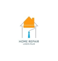 Home repair logo template vector image vector image