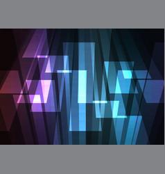 dark rainbow multicolor big bar reverse abstract vector image