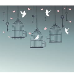 doves free vector image