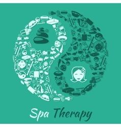 Spa therapy concept vector