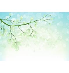 Spring floral ilustration vector