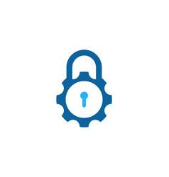 tool security logo icon design vector image