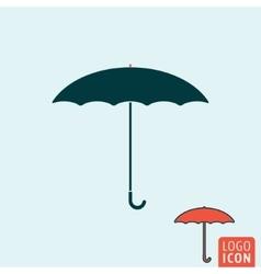 Umbrella icon isolated vector image