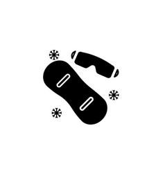 Winter black vector