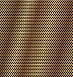 gold metal background vector image
