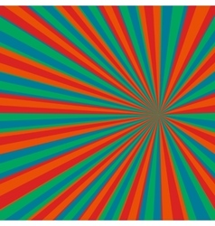 Colored Pop Art background vector image