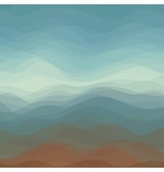 Abstract of Dark Color Wavy Background vector