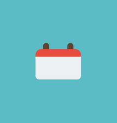 Flat icon calendar element of vector