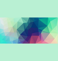 flat vintage color geometric triangle wallpaper vector image