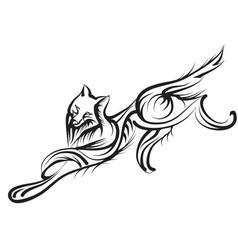 Grey wolf vector