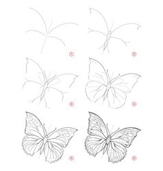 How to draw sketch beautiful fantastic vector