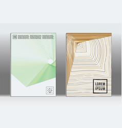 minimal placard geometric cover vector image