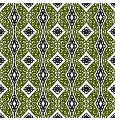pattern with Eastern ornament vector image