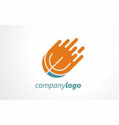 T shirt sport logo design vector