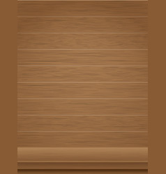 Wooden background and tabletop vector