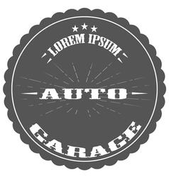 auto repair garage logos and pictures vector image